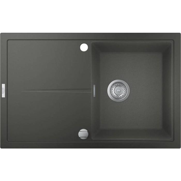 Кухонная мойка Grohe K400 серый гранит (31639AT0)