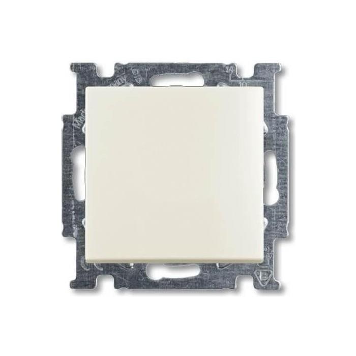 Выключатель ABB кнопочный одноклавишный Basic55 10A 250V слоновая кость