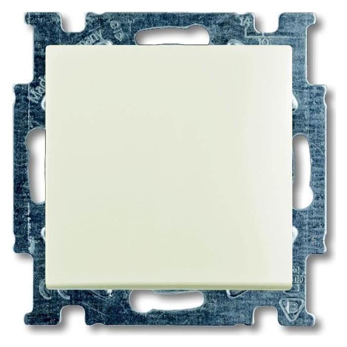 Переключатель ABB одноклавишный перекрестный Basic55 10A 250V chalet - белый