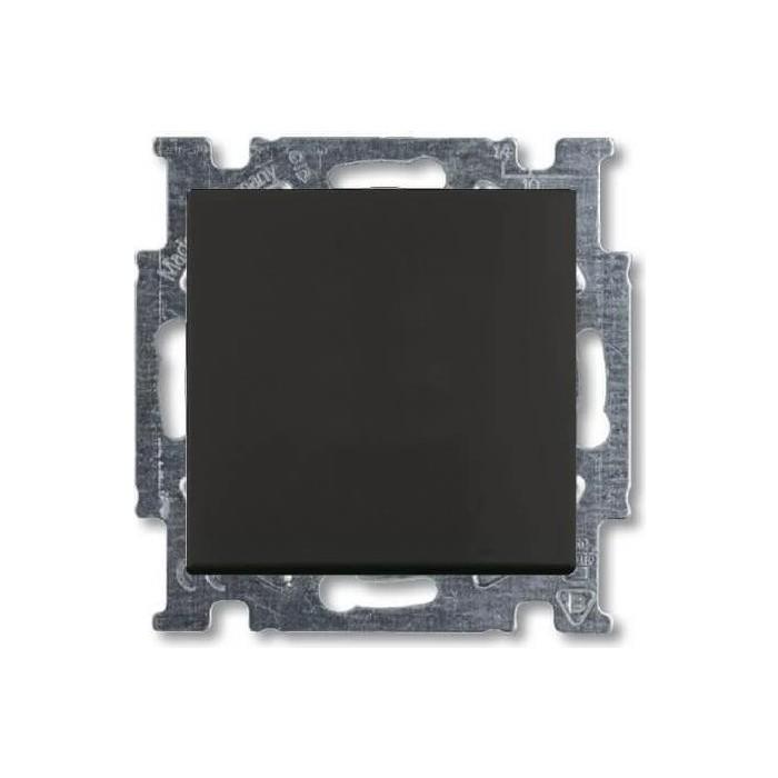 Переключатель ABB одноклавишный перекрестный Basic55 10A 250V chateau - черный