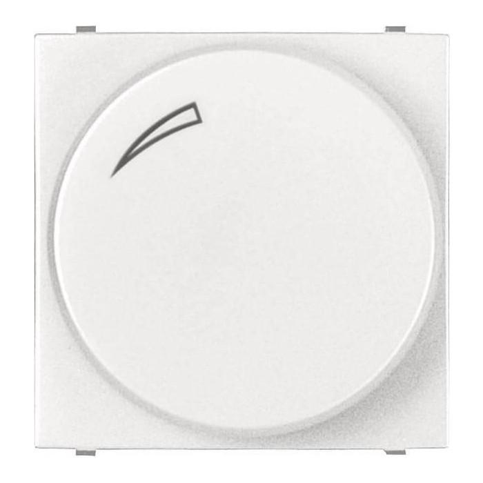 Диммер ABB поворотный для LEDi ламп Zenit альпийский белый