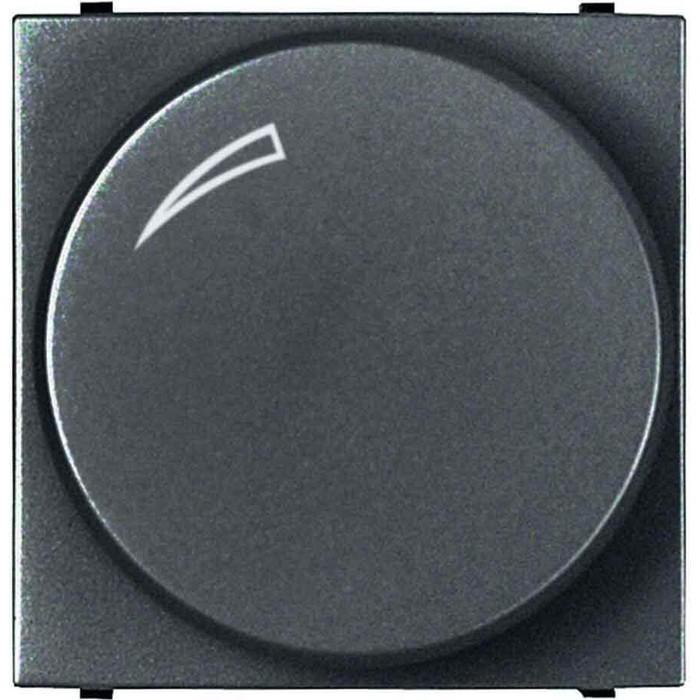 Диммер ABB поворотный для LEDi ламп Zenit антрацит