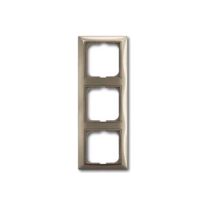Рамка ABB 3-постовая Basic55 maison - бежевый