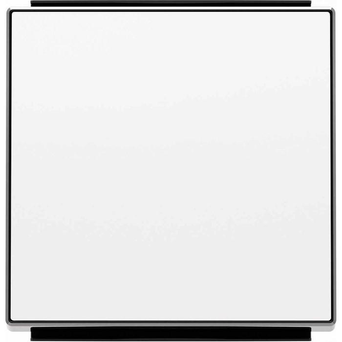 Фото - Лицевая панель ABB Sky выключателя одноклавишного альпийский белый лицевая панель legrand valena allure для выключателя одноклавишного с подсветкой индикацией антрацит 755088