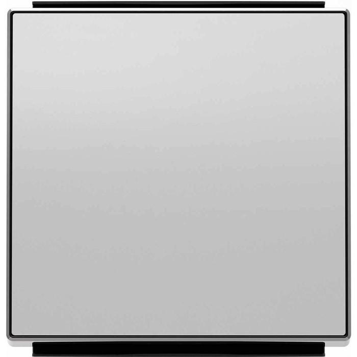 Лицевая панель ABB Sky выключателя одноклавишного серебристый алюминий