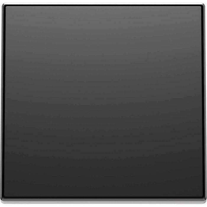 Лицевая панель ABB Sky выключателя со шнурком чёрный бархат