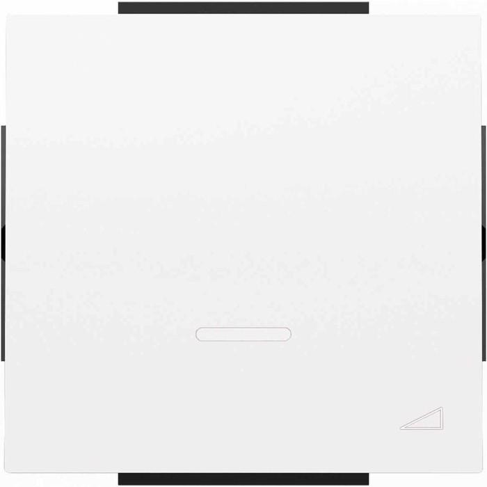 Лицевая панель ABB Sky диммера клавишного альпийский белый