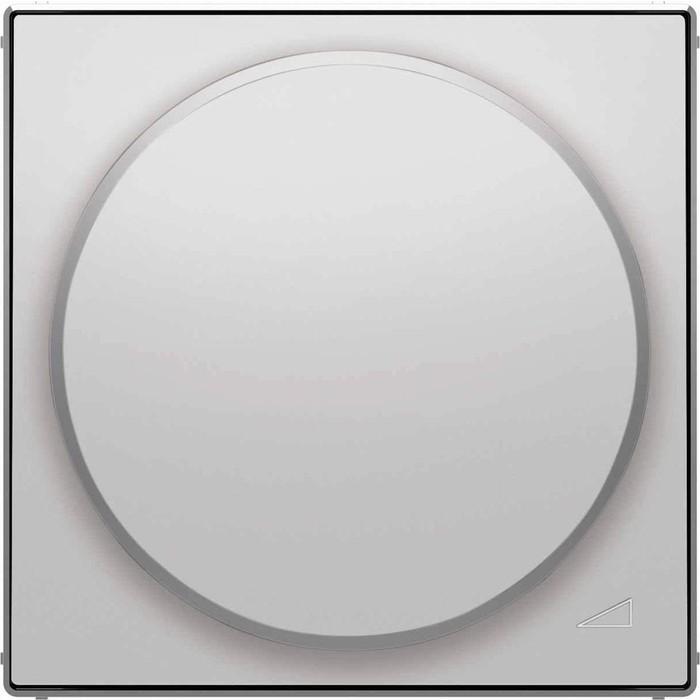 Лицевая панель ABB Sky диммера поворотного серебристый алюминий