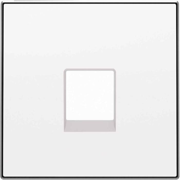 Лицевая панель ABB Sky розетки RJ12 альпийский белый