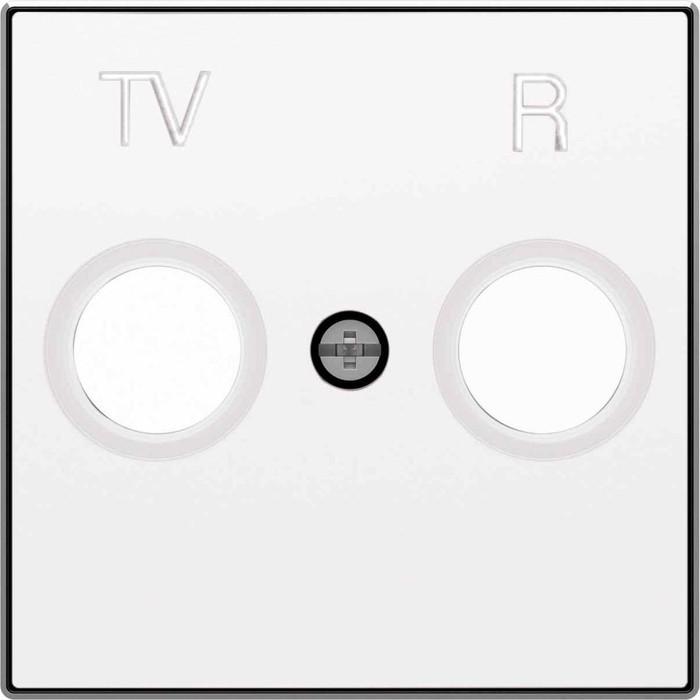 Лицевая панель ABB Sky розетки TV-R альпийский белый