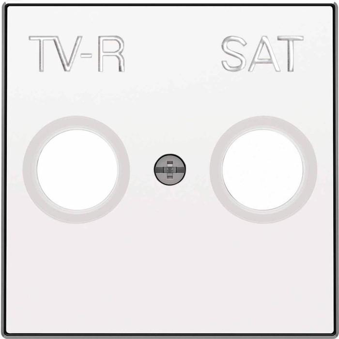 Лицевая панель ABB Sky розетки TV-R-SAT альпийский белый