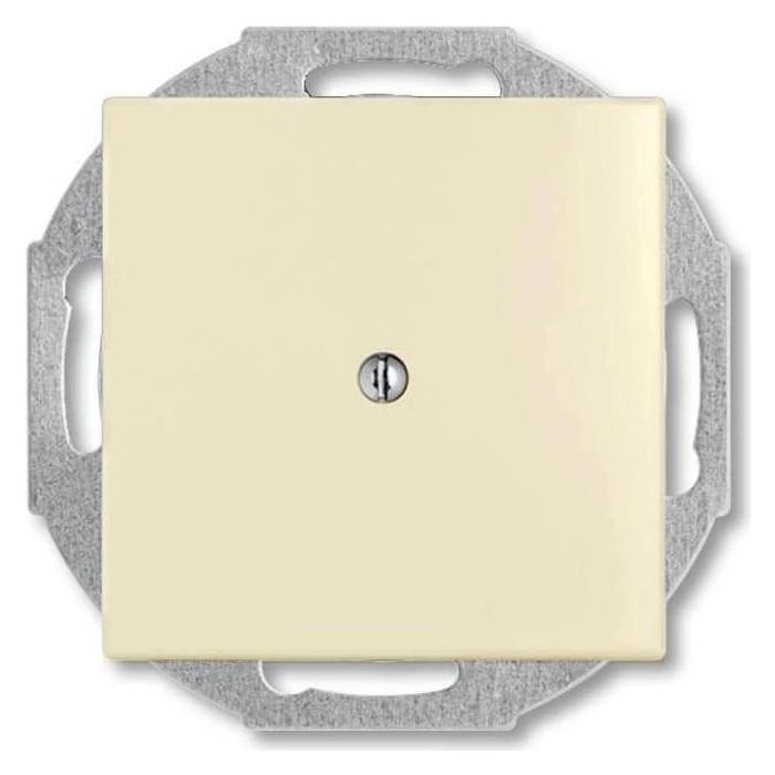Лицевая панель ABB Basic55 вывода кабеля слоновая кость