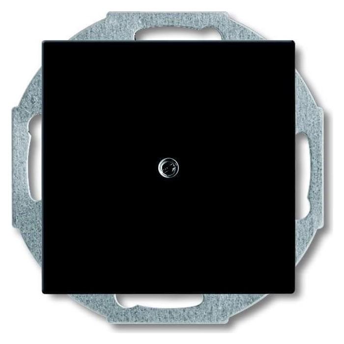 Лицевая панель ABB Basic55 заглушка chateau - черный
