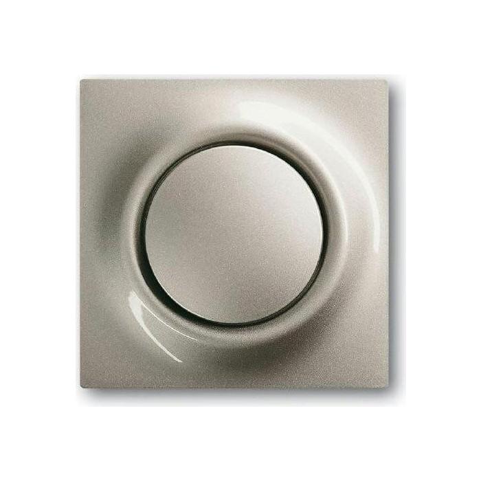 Фото - Лицевая панель ABB Impuls выключателя одноклавишного шампань-металлик лицевая панель legrand valena allure для выключателя одноклавишного с подсветкой индикацией антрацит 755088