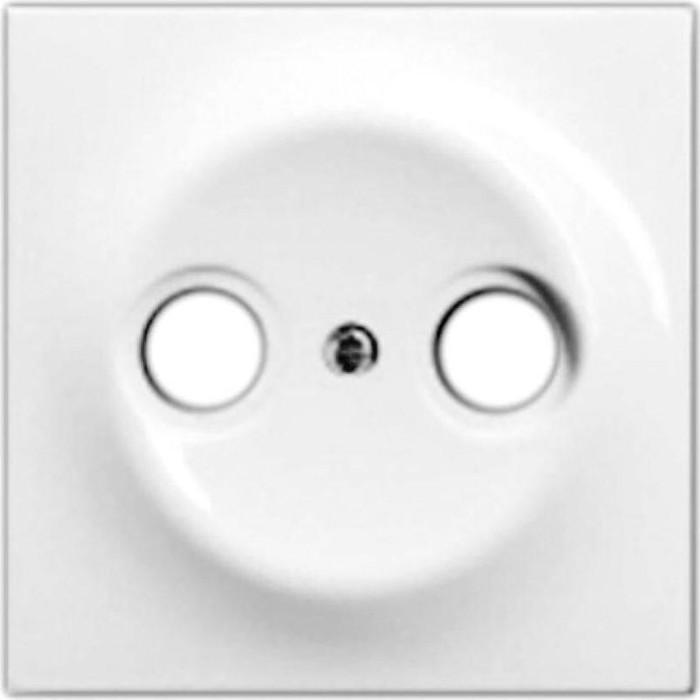 Лицевая панель ABB Impuls розетки TV-R альпийский белый