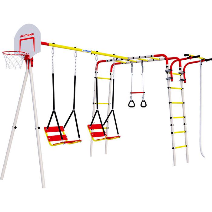Детский спортивный комплекс Romana Акробат 2 + ЦЕПНЫЕ качели R 103.19.05