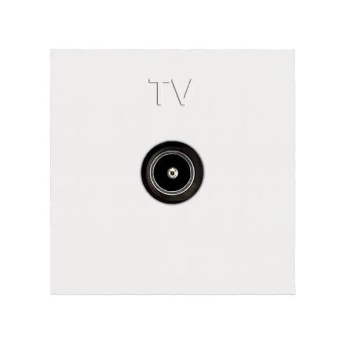 Розетка ABB TV Zenit альпийский белый (2CLA225070N1101)