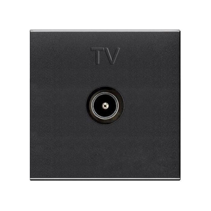 Розетка ABB TV Zenit антрацит (2CLA225070N1801)