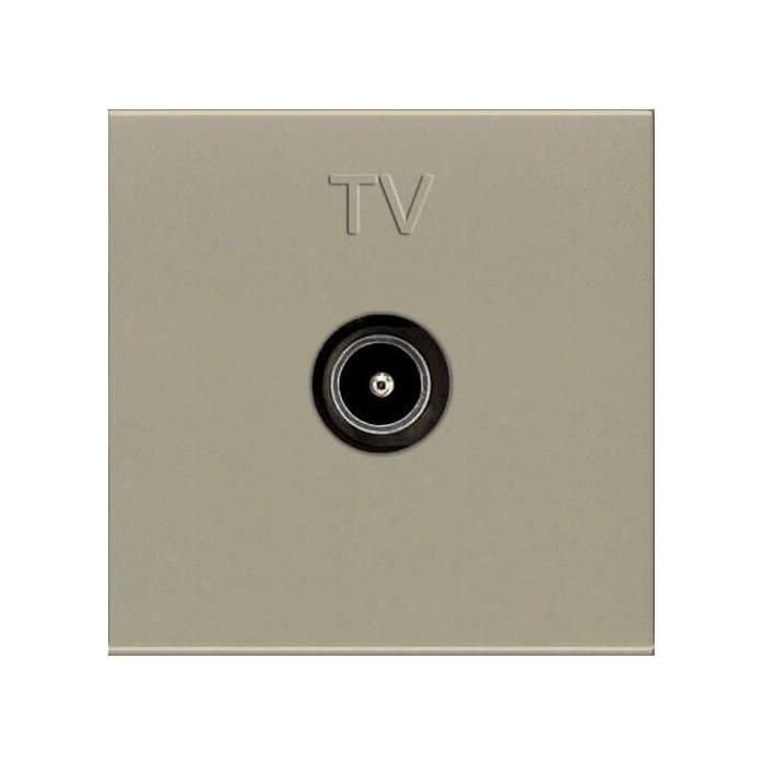 Розетка ABB TV Zenit шампань (2CLA225070N1901)