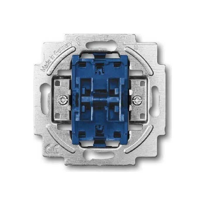 Переключатель ABB двухклавишный BJE 10A 250V (2CKA001011A0928)