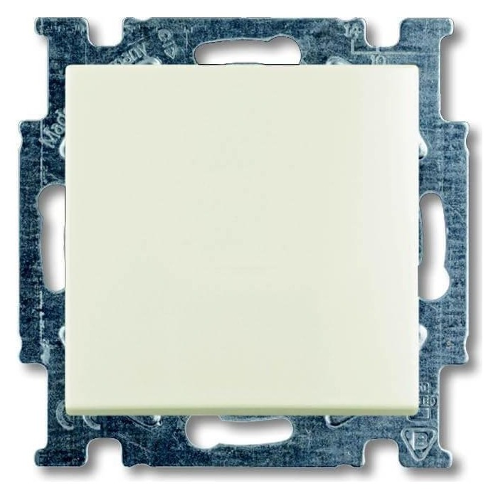 Переключатель ABB одноклавишный Basic55 10A 250V chalet - белый (2CKA001012A2189)