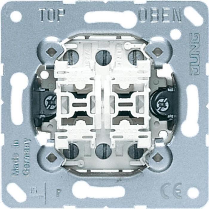 Механизм Jung переключателя 2-клавишного проходного 509U