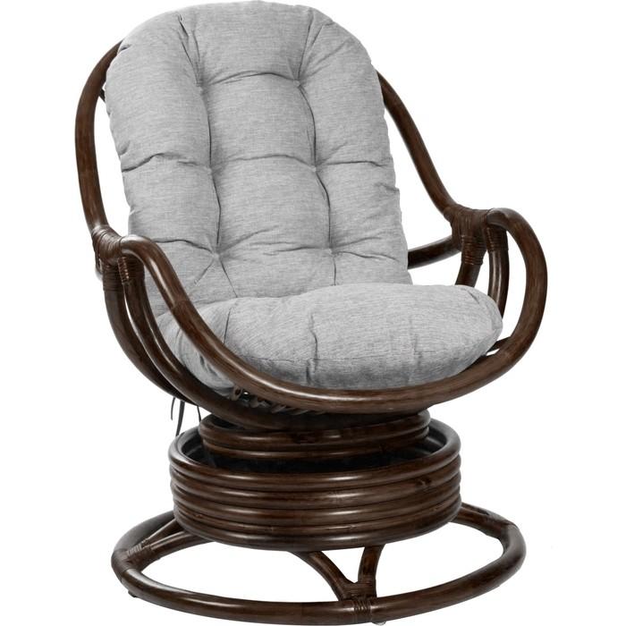 Кресло-качалка Мебель Импэкс Kara с подушкой орех