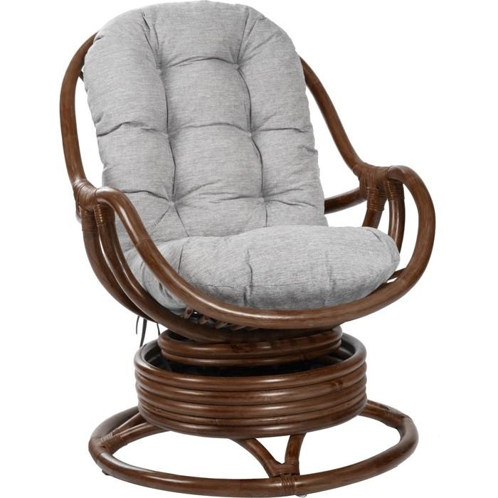 Кресло-качалка Мебель Импэкс Kara с подушкой коньяк