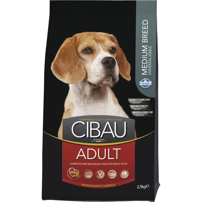 Сухой корм Farmina CIBAU Adult Medium Breed для щенков средних пород 2,5кг