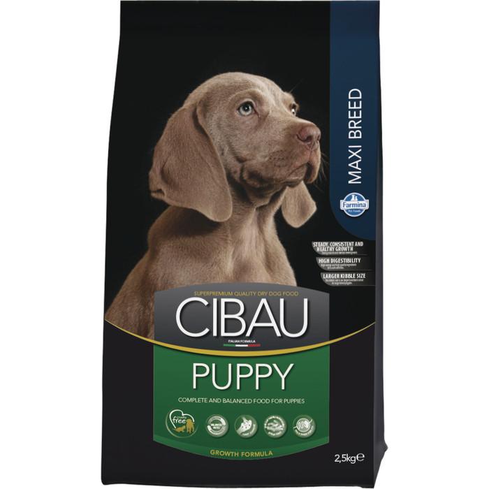 Сухой корм Farmina CIBAU Puppy Maxi для щенков средних пород 2,5кг