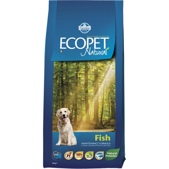 Сухой корм Farmina Ecopet Natural Adult Dog Fish с рыбой для взрослых собак 12кг