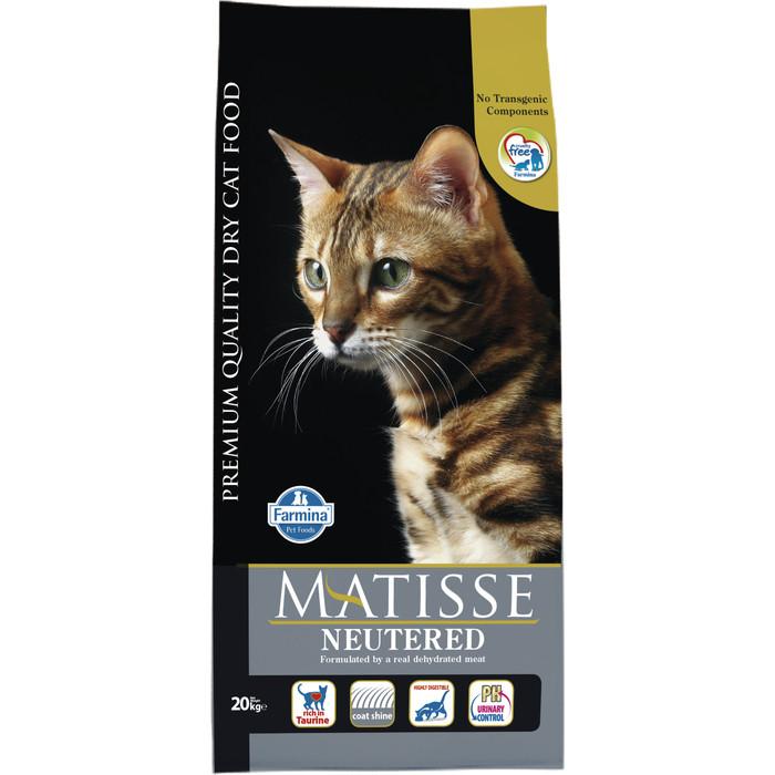 Сухой корм Farmina Matisse Adult Cat Neutered Chicken & Rice с курицей и рисом для взрослых кошек 20кг