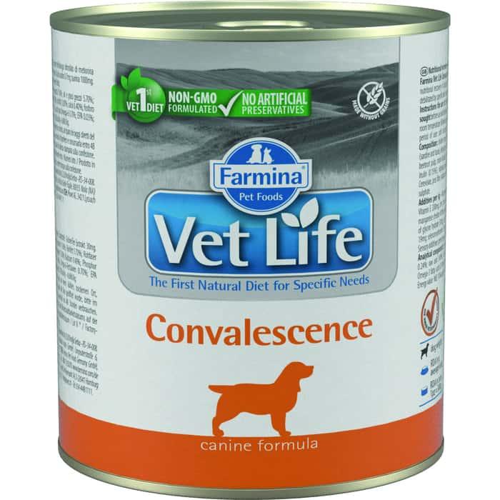 Консервы Farmina Vet Life Convalescence Canine диета в период выздоровления для собак 300г