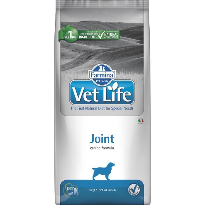 Сухой корм Farmina Vet Life Joint для собак с заболеваниями опорно-двигательного аппарата 12кг
