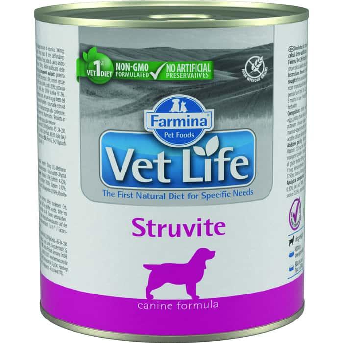 Консервы Farmina Vet Life Struvite Canine диета при МКБ для собак 300г