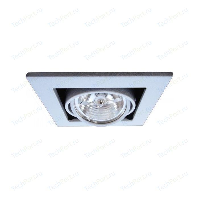 Точечный поворотный светильник Arte Lamp A5930PL-1SI