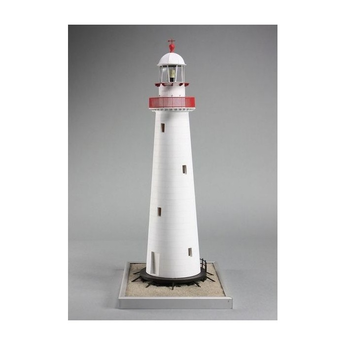 Сборная картонная модель Shipyard маяк Cape Bowling Green Lighthouse (№61), 1/72 lighthouse wood grain linen pillow case