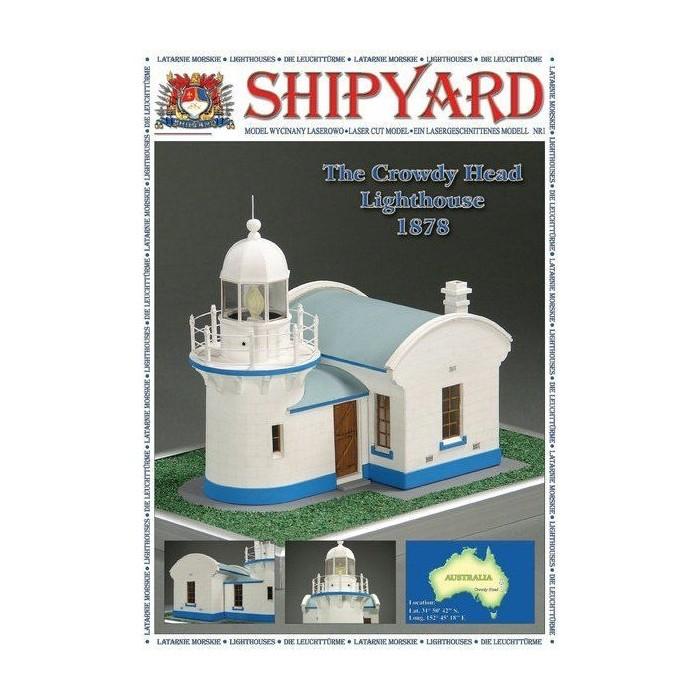 Сборная картонная модель Shipyard маяк Lighthouse Crowdy Head (№1), 1/72