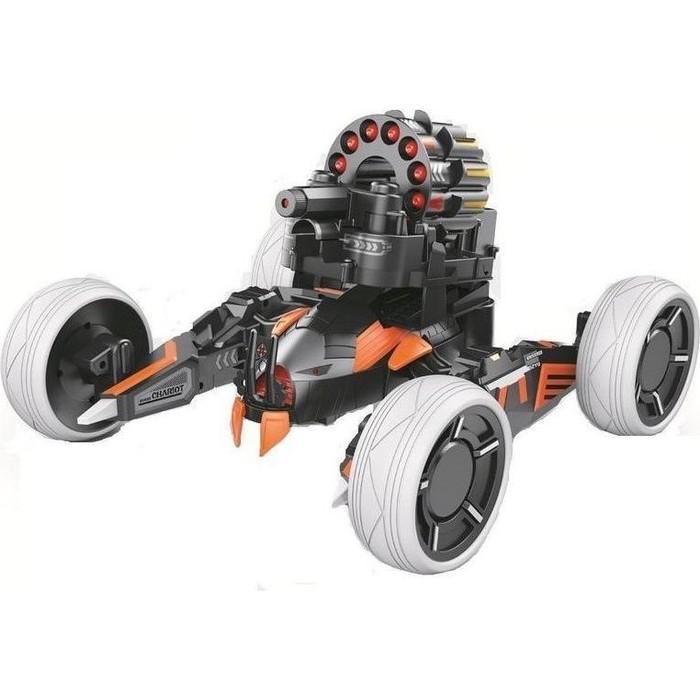 Радиоуправляемая боевая машина Keye Toys Universe Chariot, лазер, ракеты, голубая, Ni-Mh и З/У, 2.4G