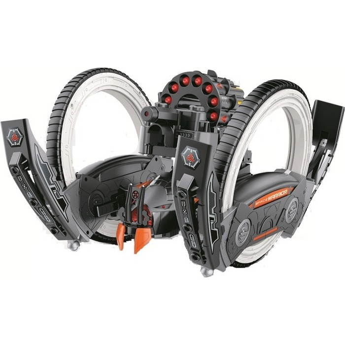 Радиоуправляемая боевая машина Keye Toys Universe, лазер, ракеты, оранжевая, Ni-Mh и З/У, 2.4G