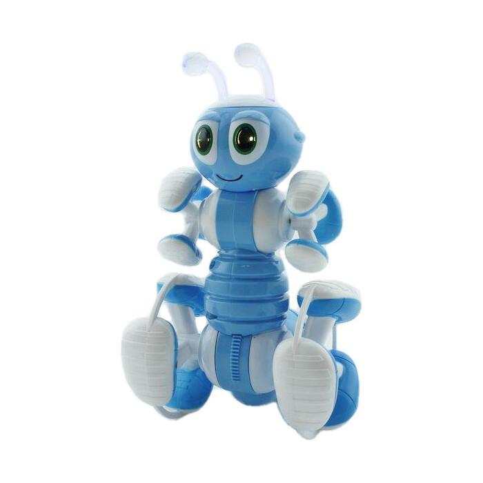 Радиоуправляемый робот-муравей BRAINPOWER трансформируемый, звук, свет, танцы (синий)