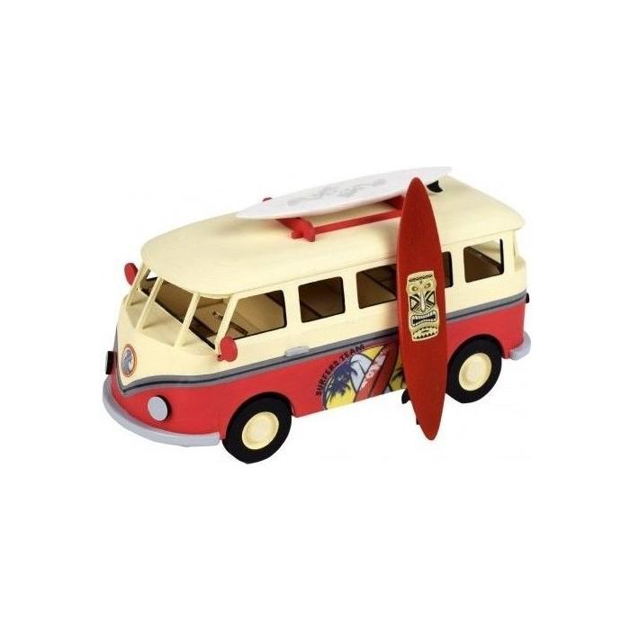 Собранная деревянная модель автомобиля Artesania Latina SURFERS VAN BUILT