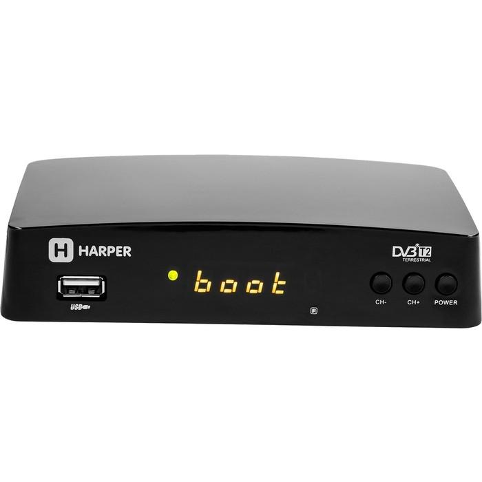 Тюнер DVB-T2 HARPER HDT2-1511
