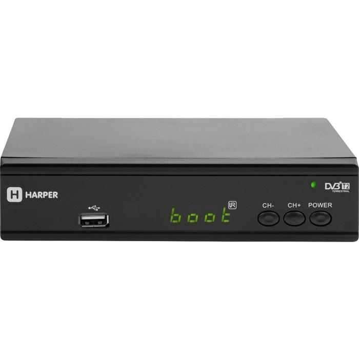 Тюнер DVB-T2 HARPER HDT2-2030