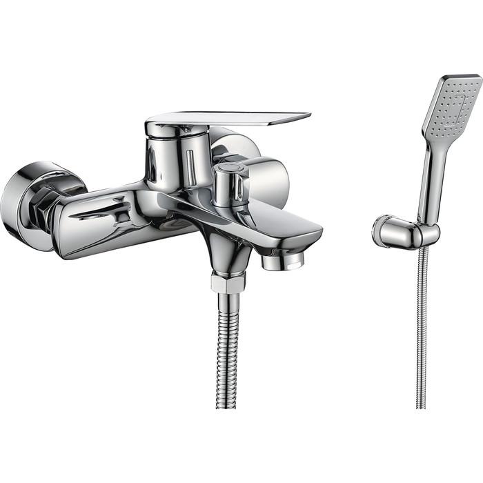 Смеситель для ванны Rush Bering с душем, хром (BE5535-44)
