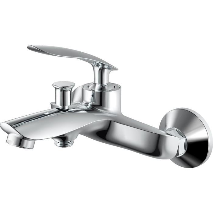 Смеситель для ванны Rush Island с душем, хром (IS6535-44)