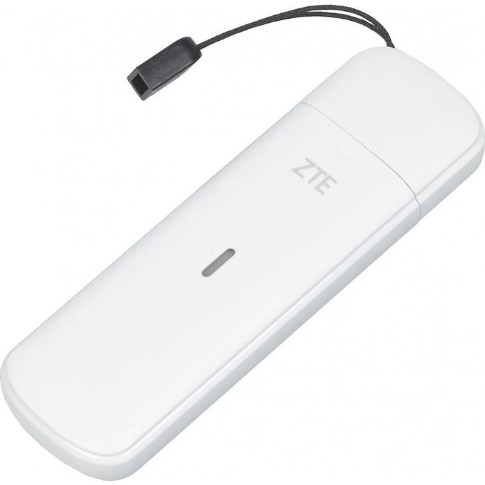 4G модем ZTE MF833R белый 4g модем zte mf79ru черный