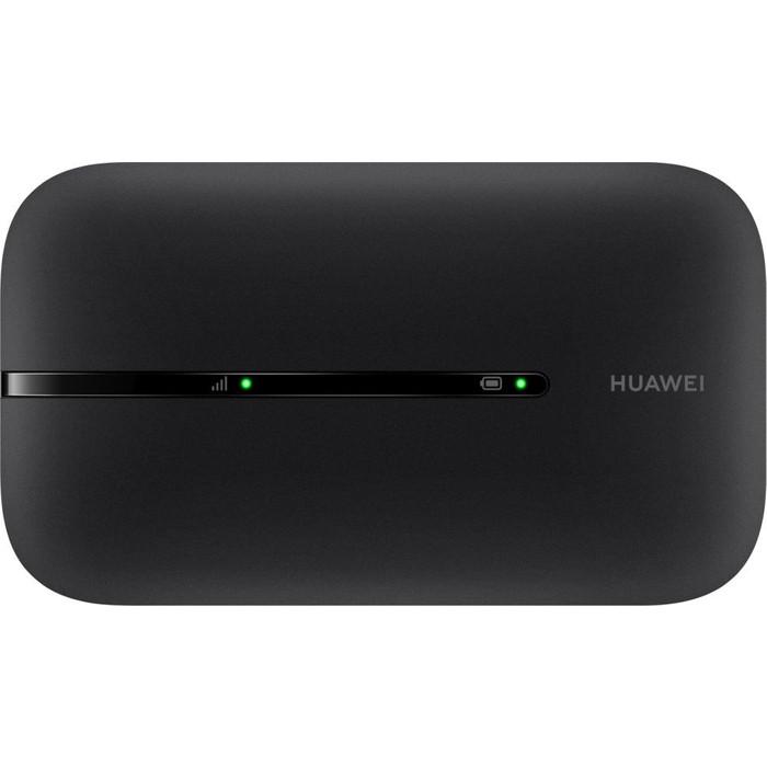 4G Wi-Fi-роутер Huawei E5576-320 черный модем huawei e5576 320 3g 4g внешний белый [51071rwy]