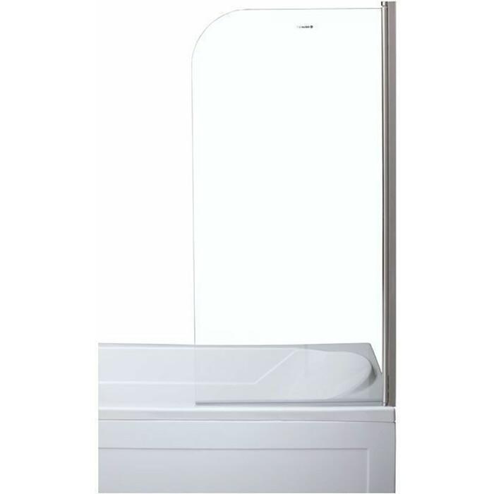 Шторка на ванну Aquanet SG-750 универсальная 75х150 см, прозрачная/хром (209411)