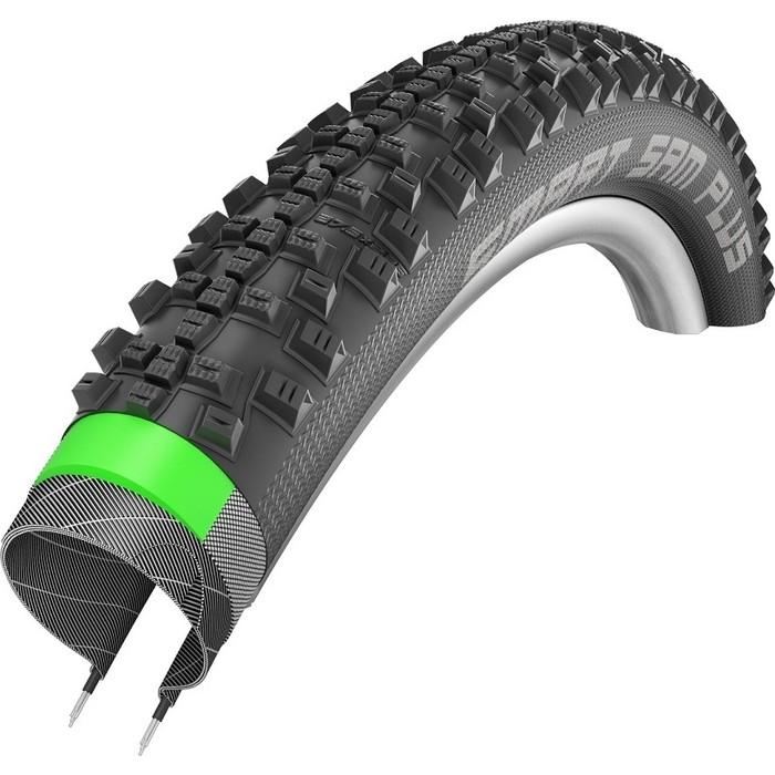 Велопокрышка SCHWALBE SMART SAM PLUS Green Guard Snake Skin 57-622 (29х2,25)